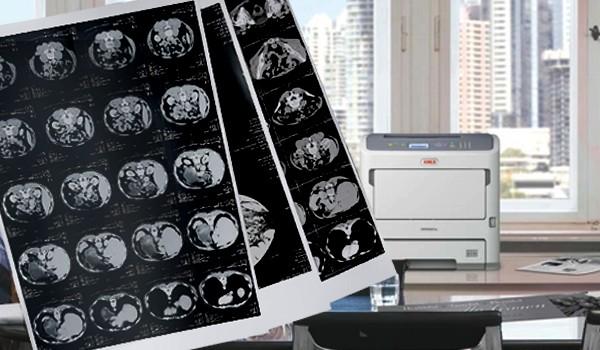 Soluções de impressão para Área Médica